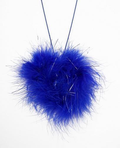 Blaue Halskette